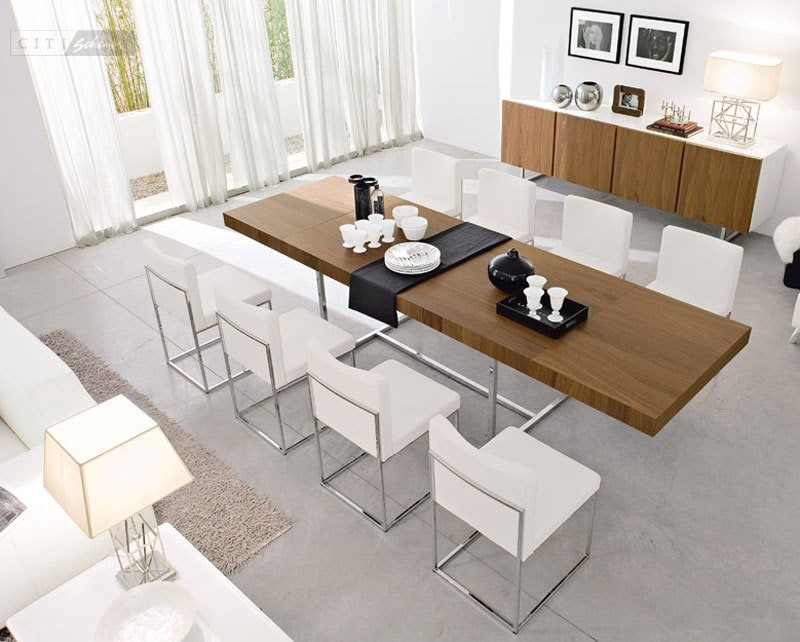Extendable Dining Table Seats 8