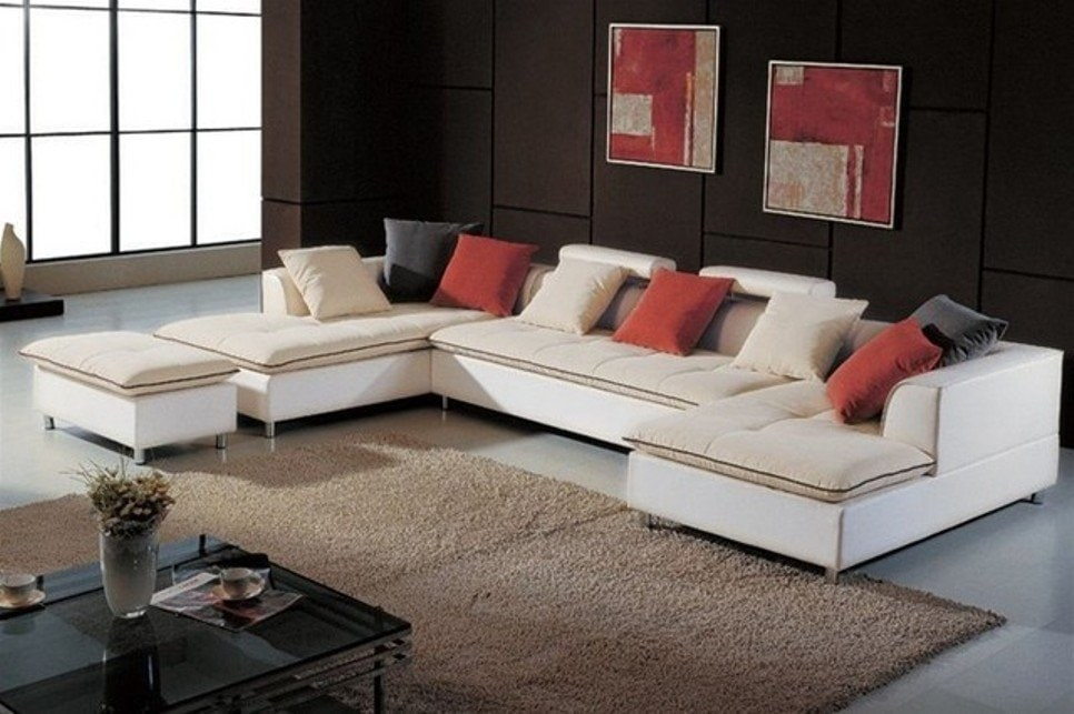 Cream Fabric Sectional Sofas Vancouver