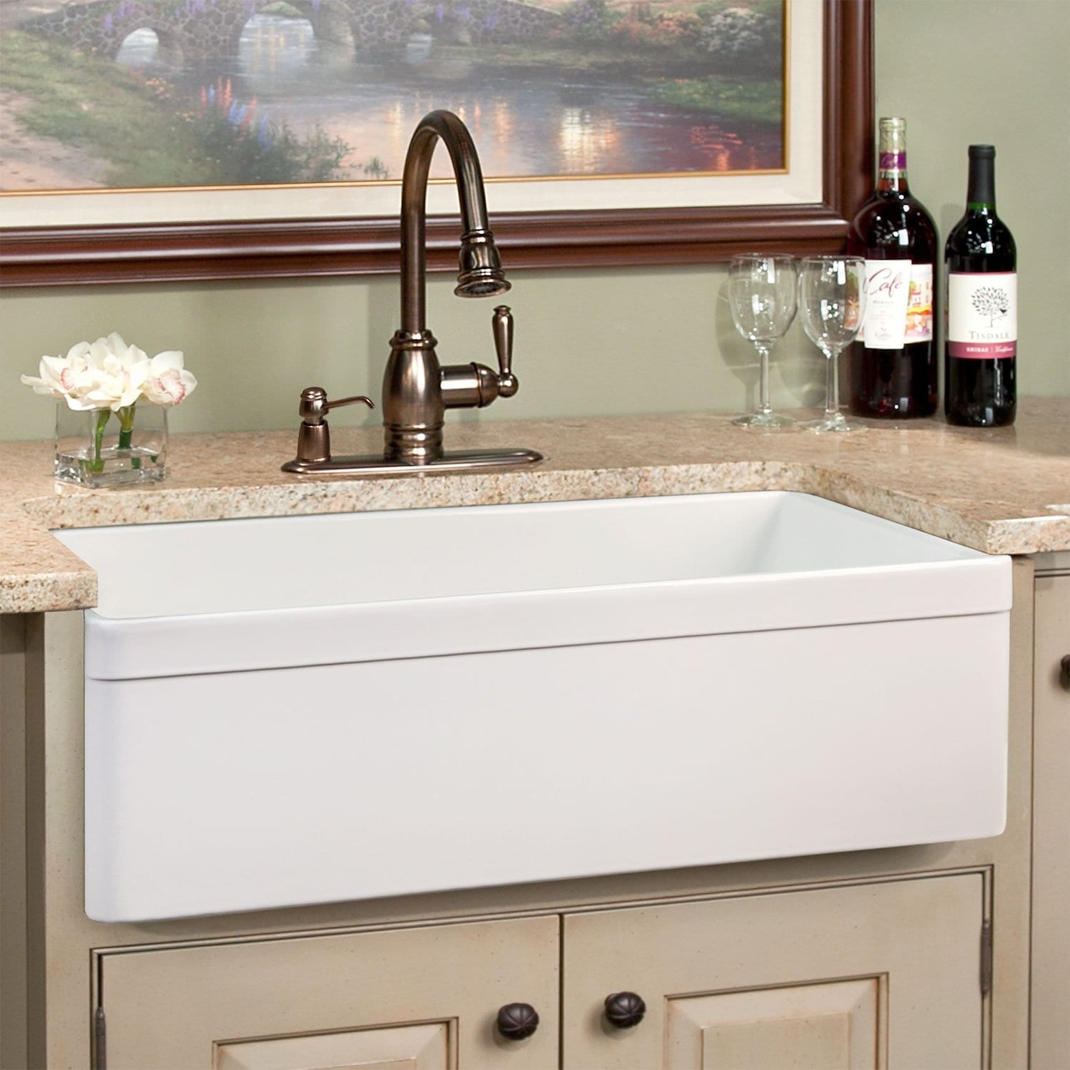 Farmhouse Single Bowl Kitchen Sink