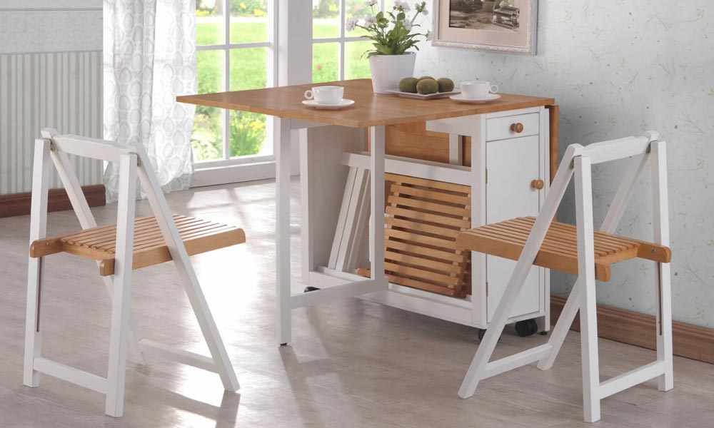 Foldable Dining Table Kitchen