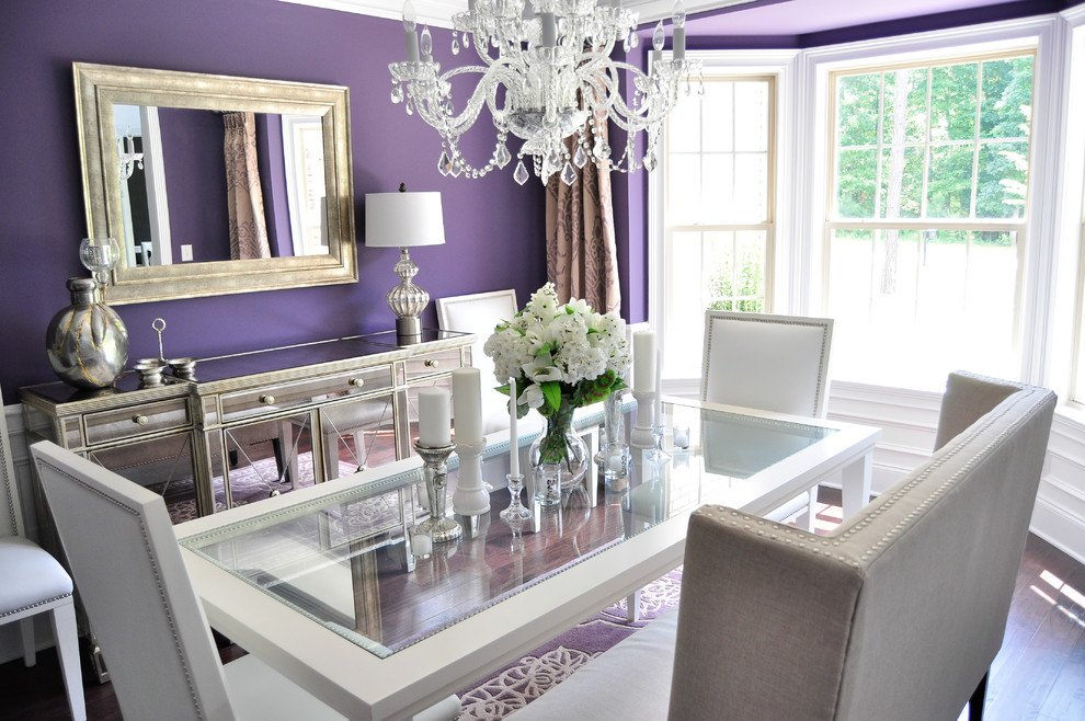 Glamours Mirrored Dining Table