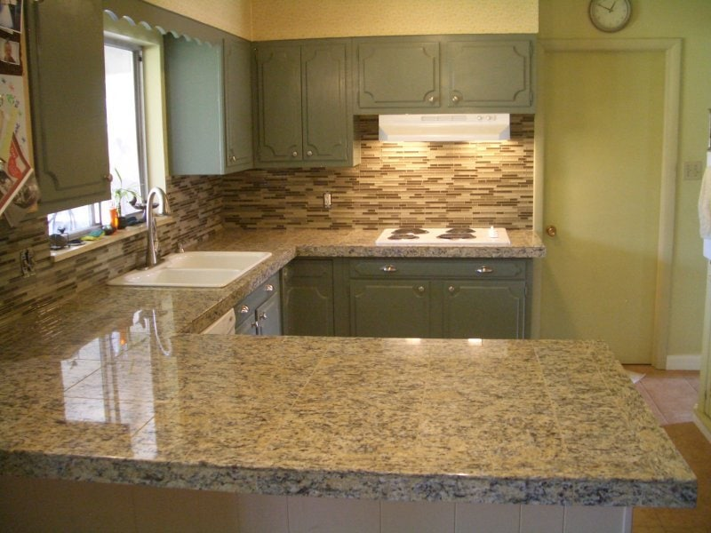 Granite Countertop Tiles Decorative