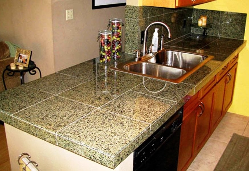 Granite Countertop Tiles Ideas