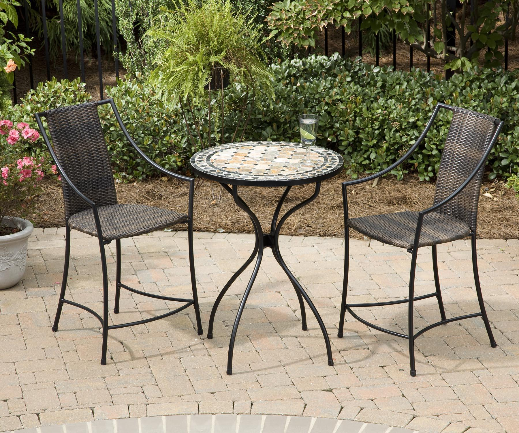 High Top Bistro Table Sets