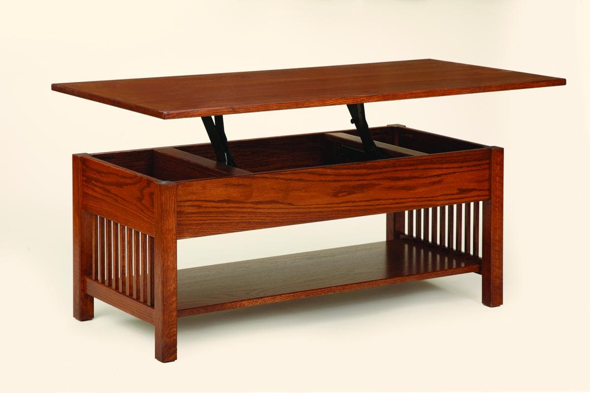 House Square Lift Top Coffee Table