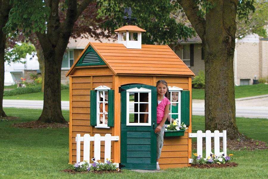 Kids Wooden Playhouse Sewing Sets