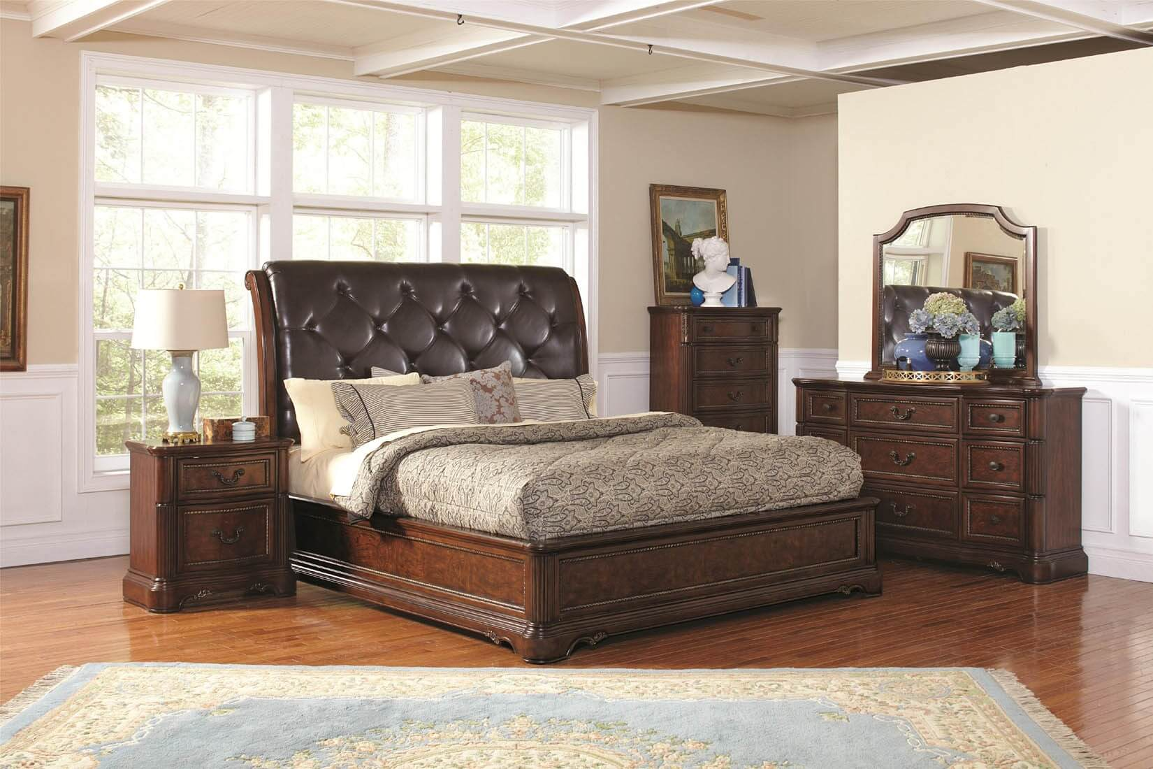 King Size Bed Frame With Headboard Loccie Better Homes