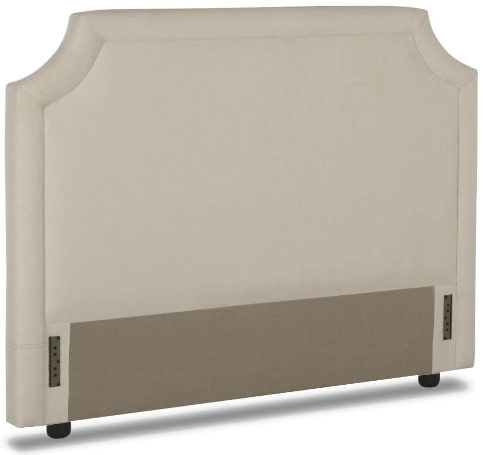 King Upholstered Headboard With Nailhead Trim