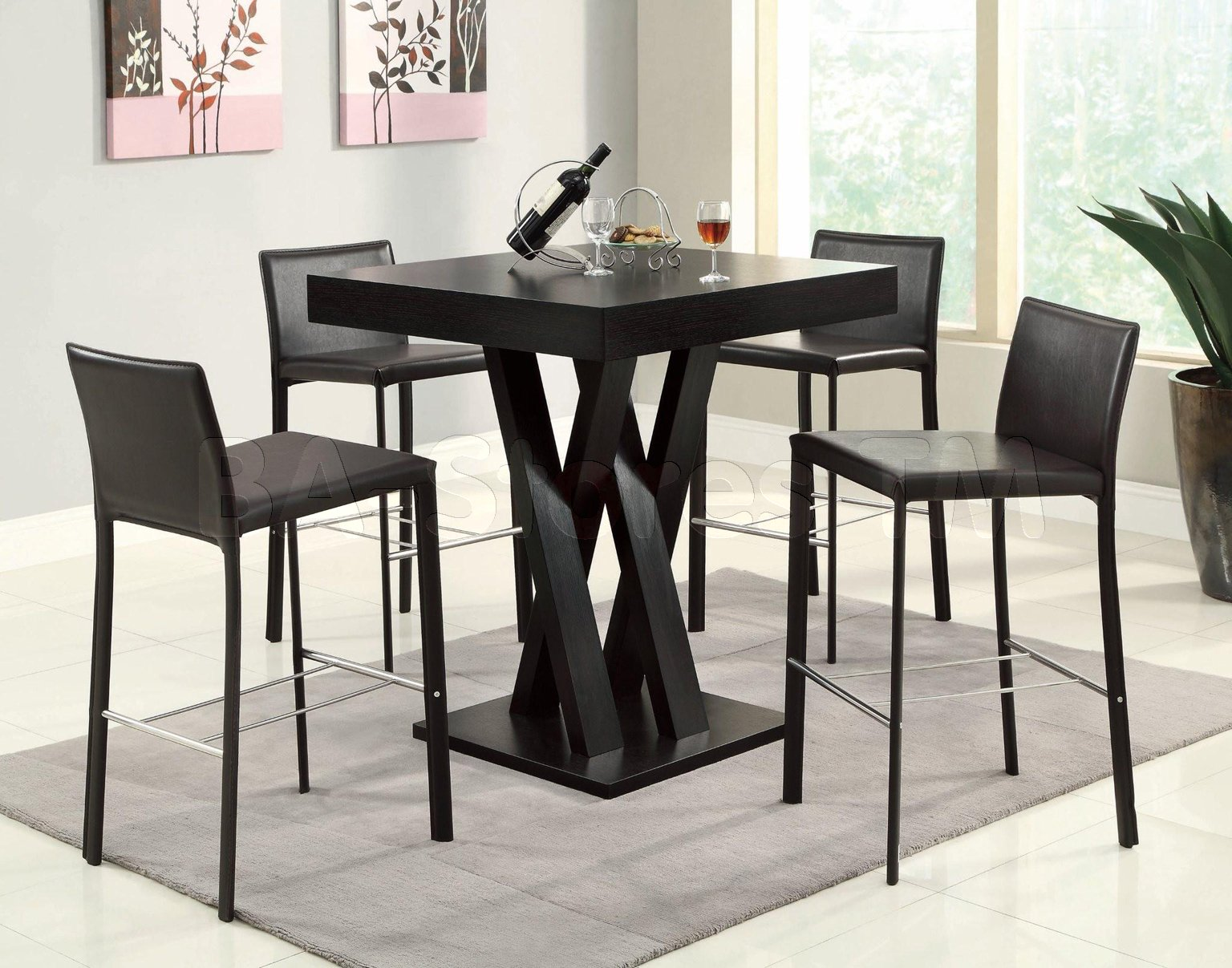 Kitchen Bar Stool Table Set