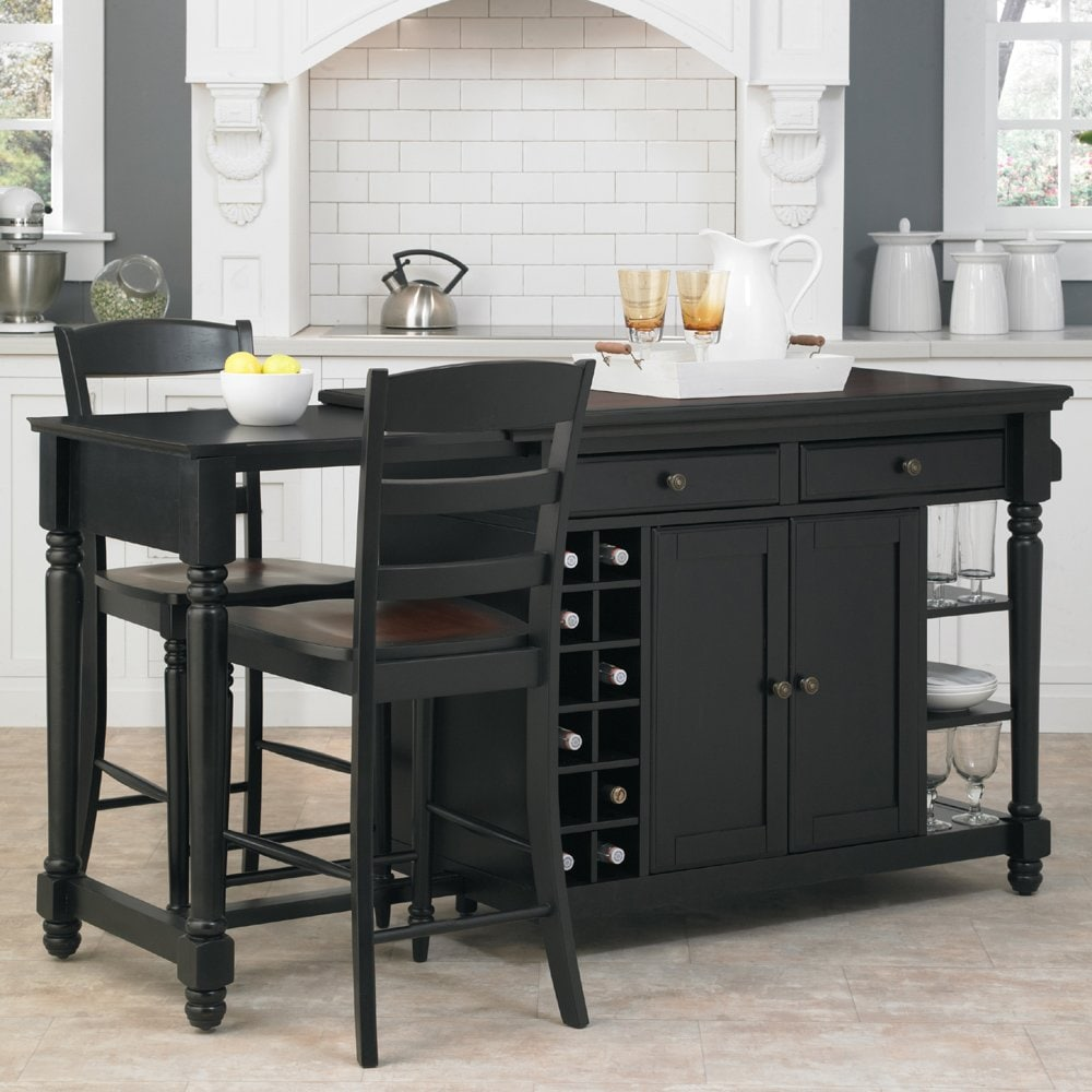 Kitchen Islands With Stools Decor