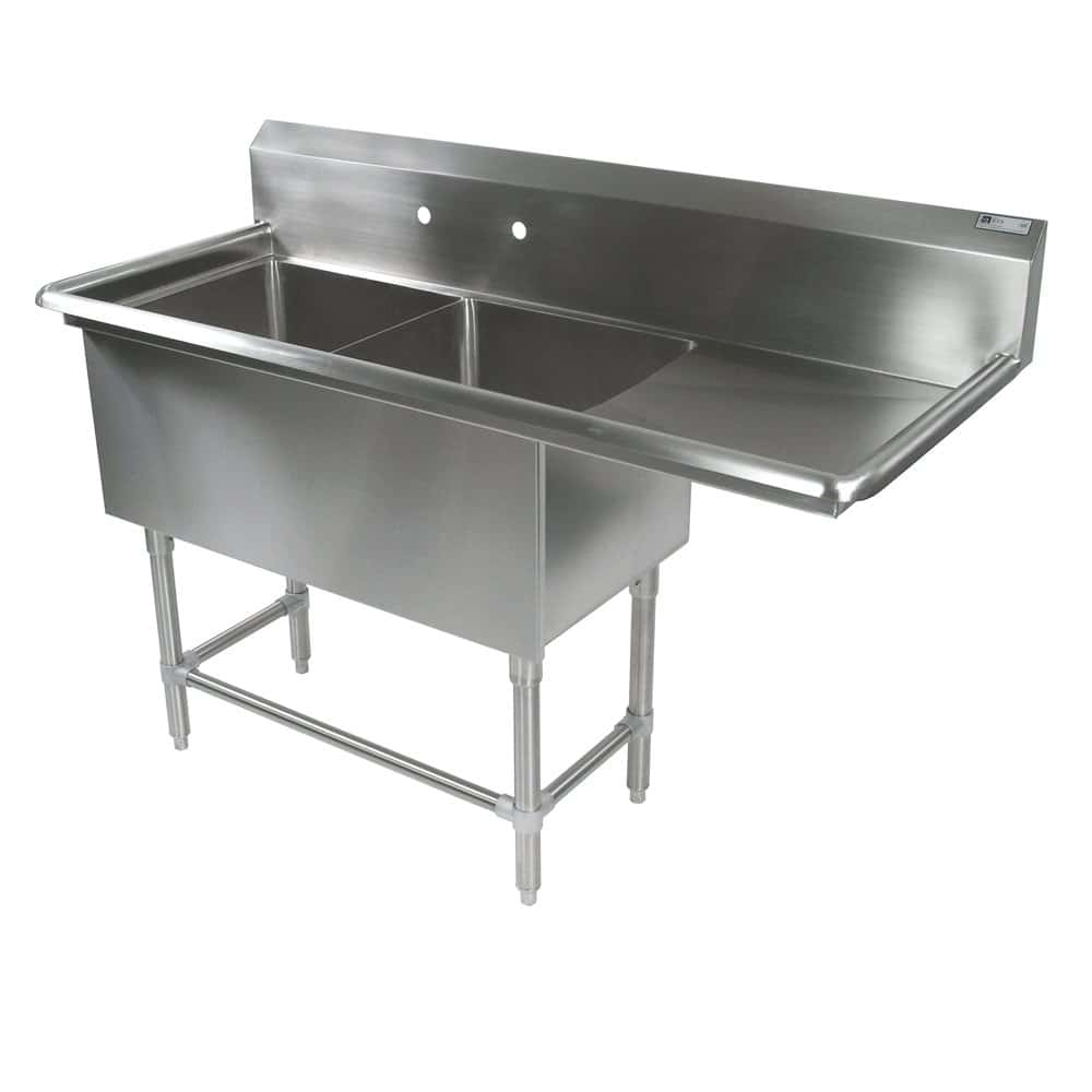 Kitchen Sink With Drainboard Modern