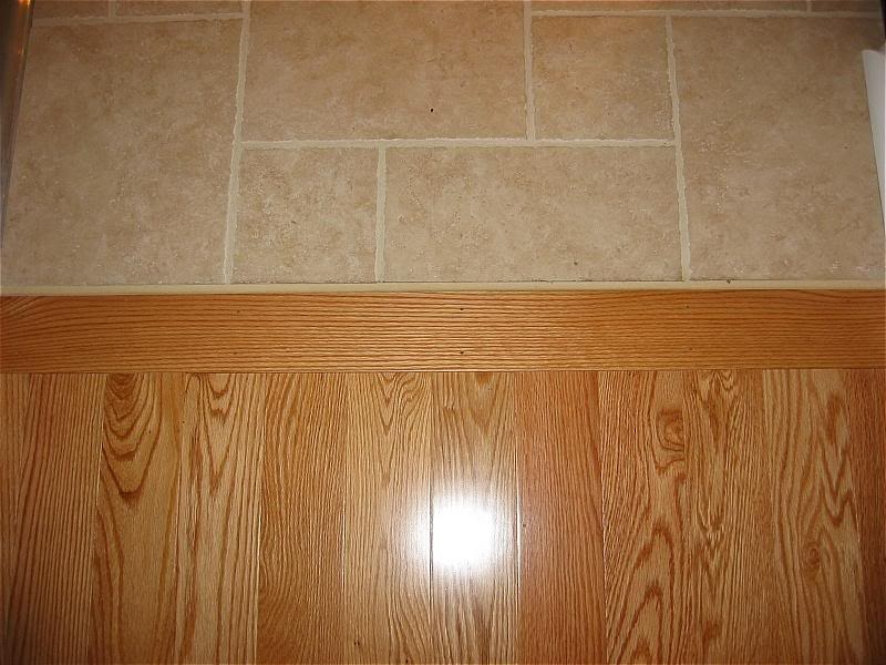 Laminate Flooring Transition Betwen Room