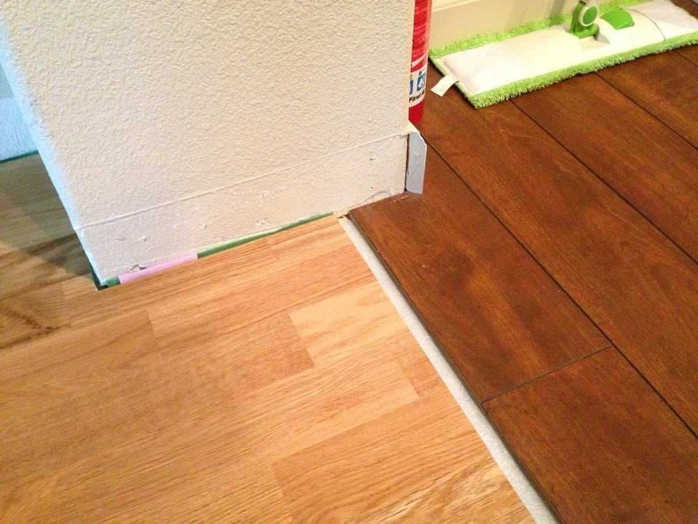 Laminate Flooring Transition Decorating Ideas
