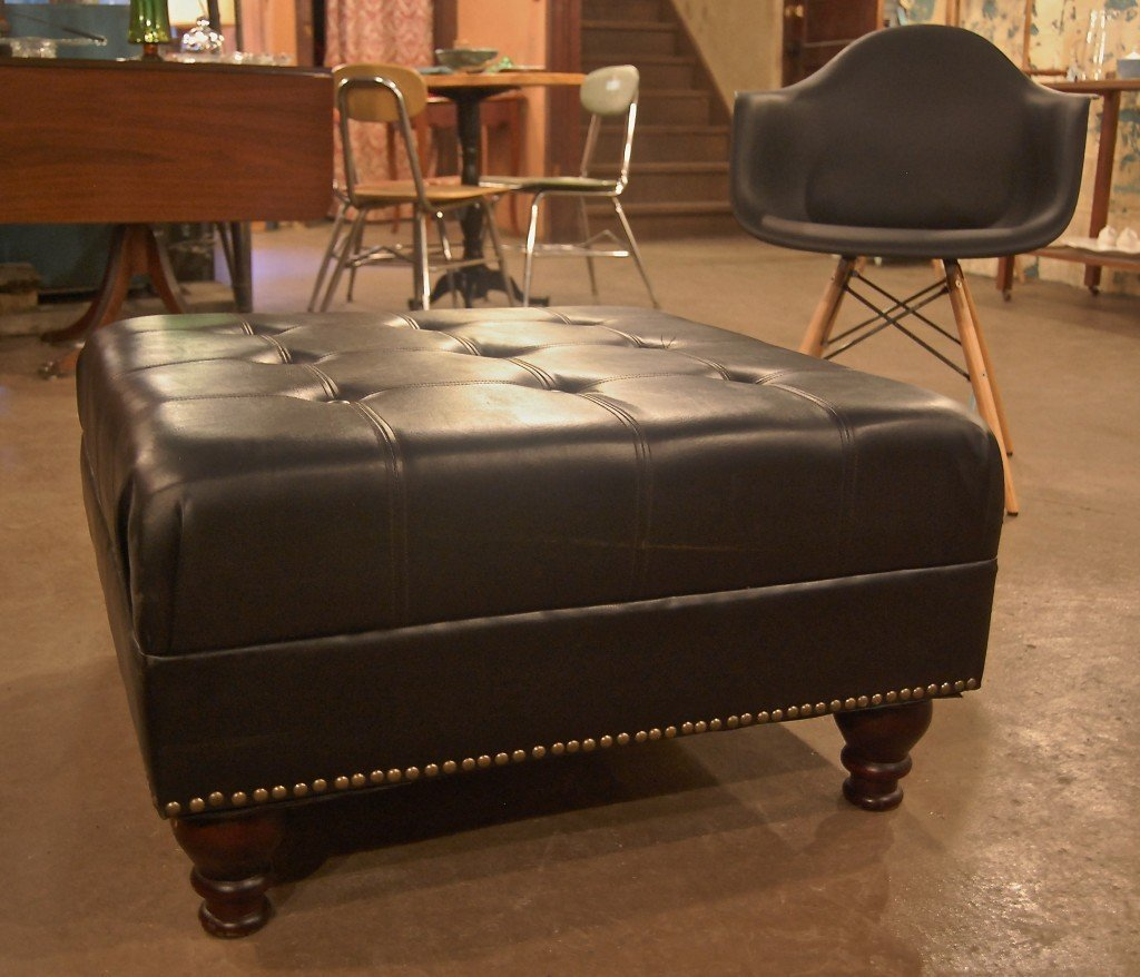 Leather Ottoman Coffee Table Target