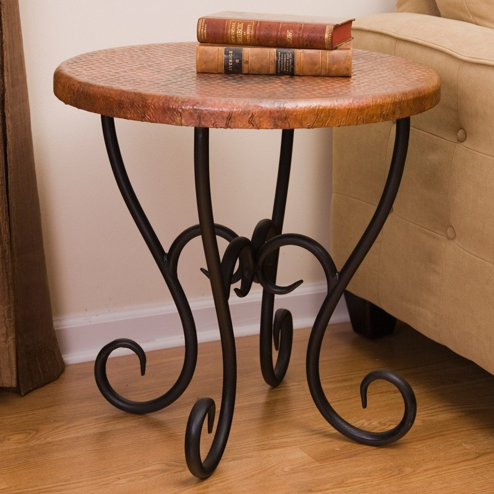 Medium Wrought Iron End Tables