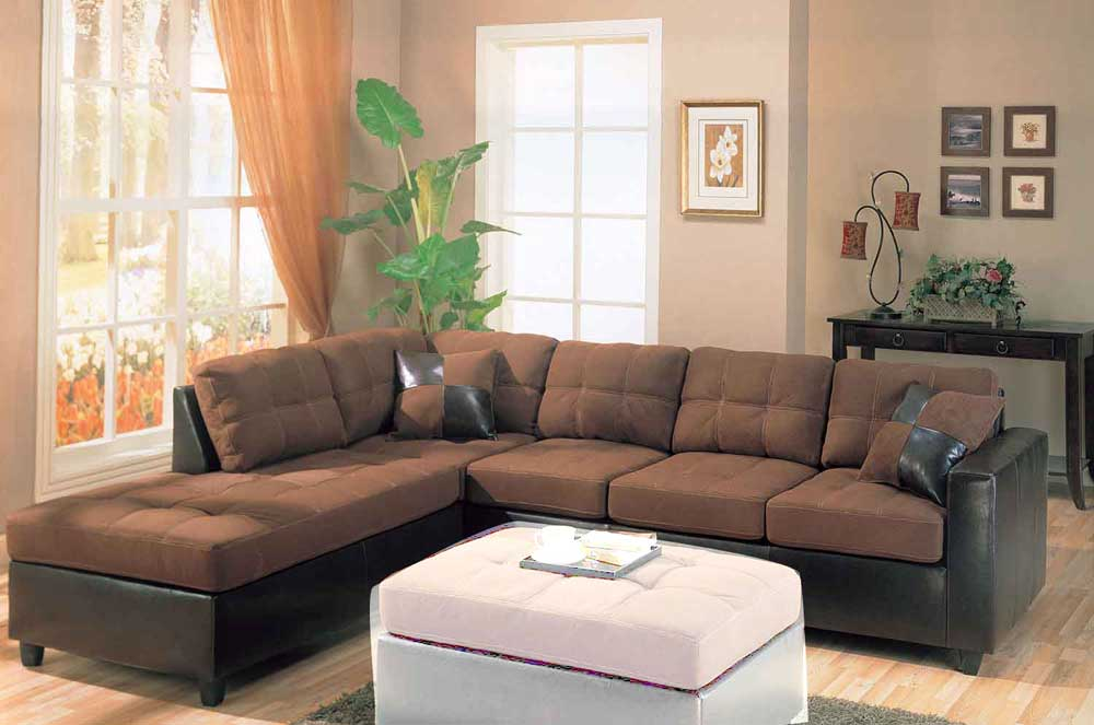 Microsuede Sofa Leather