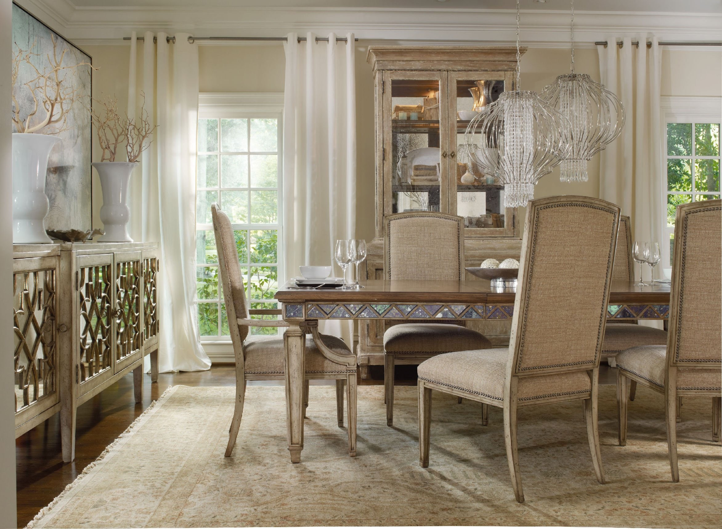 Mirrored Dining Table Furniture