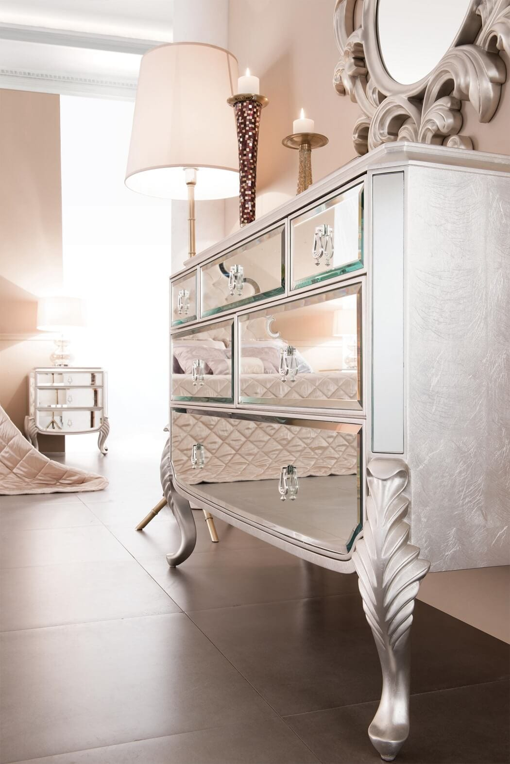 Mirrored Dresser Ideas