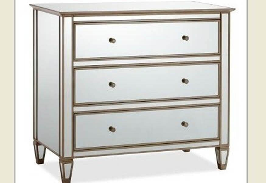Mirrored Nightstand Amazon
