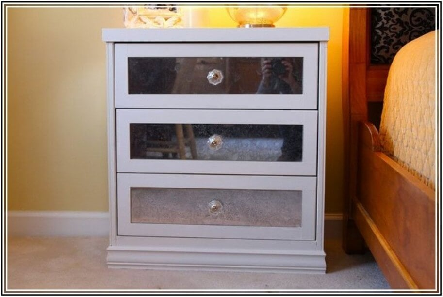 Mirrored Nightstands And Dressers