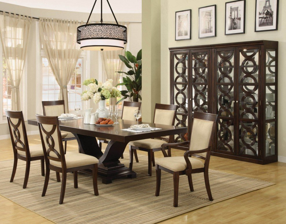 Modern Dining Room Table Centerpieces