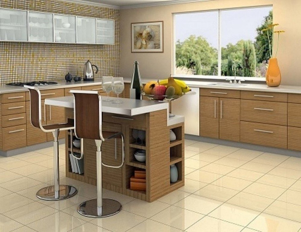 Modern Kitchen Islands With Stools