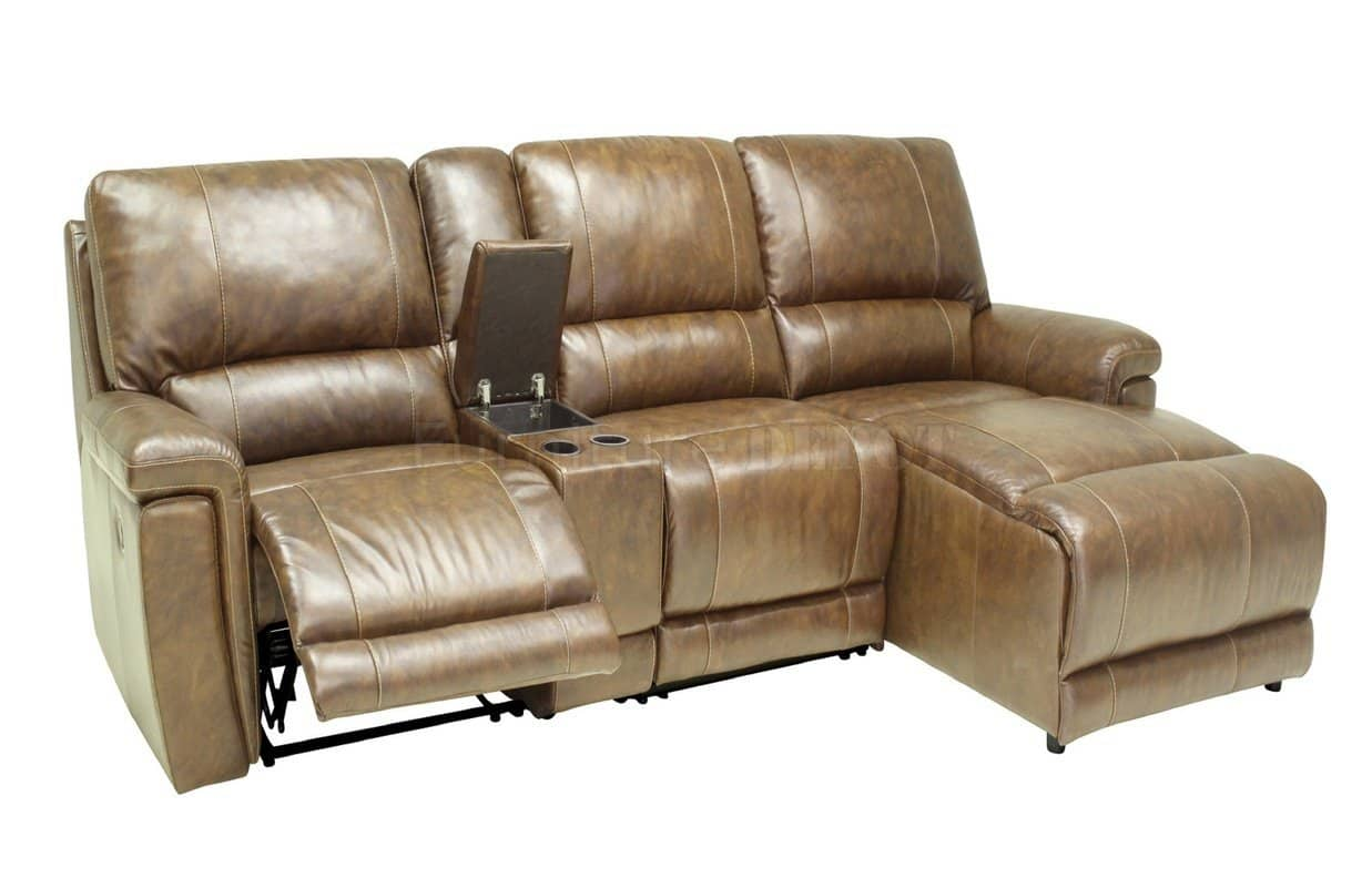Modern Reclining Sofa Sectional