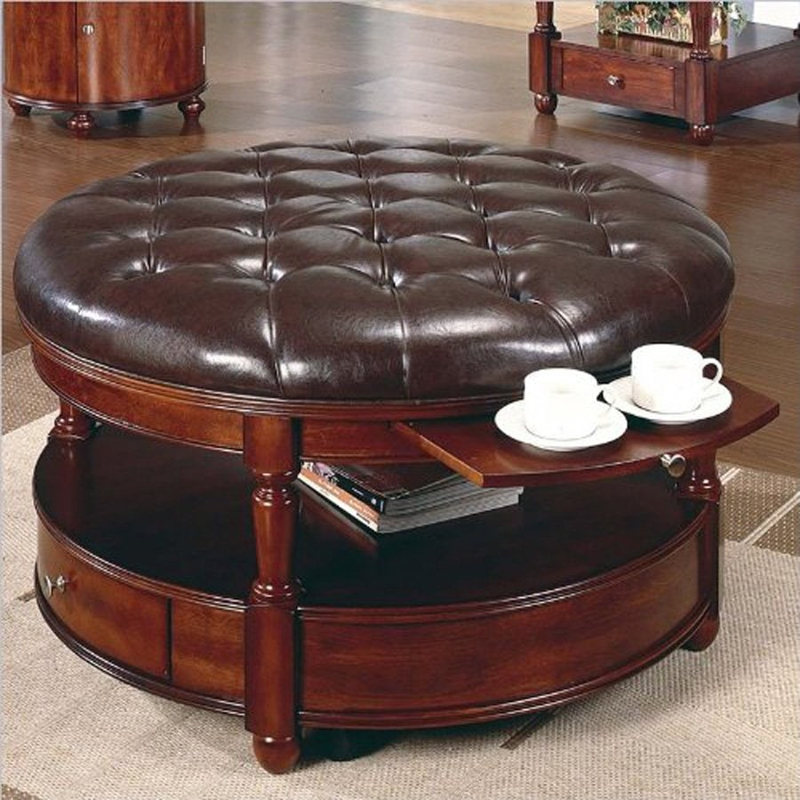 Modern Round Ottoman Coffee Table