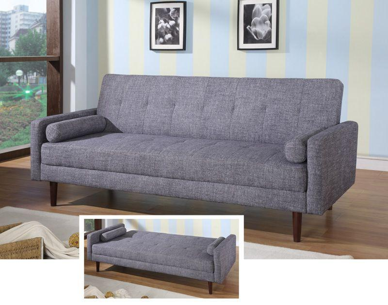 Modern Sleeper Sofa Grey Color