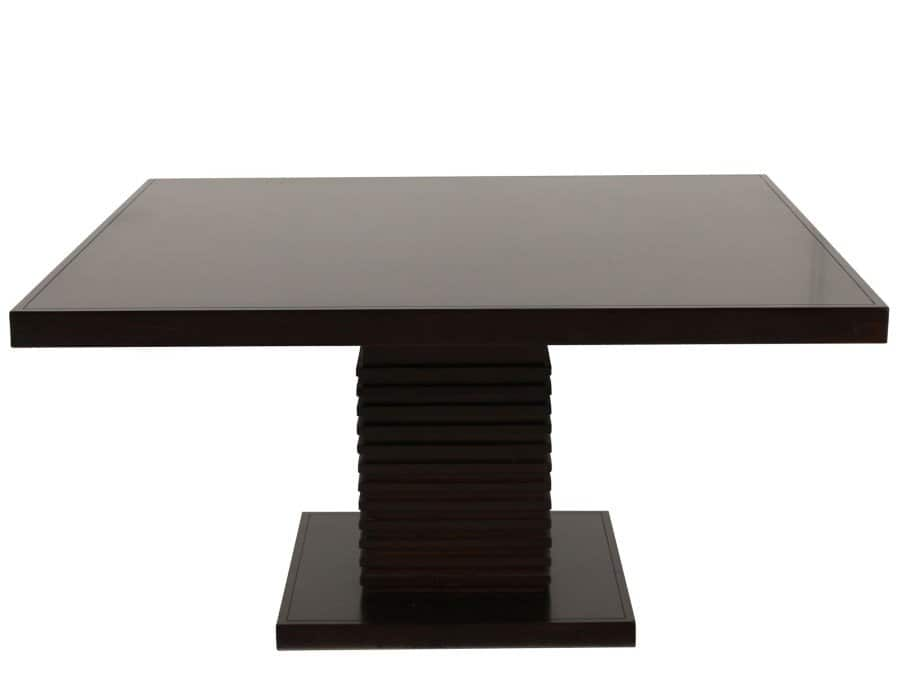 how to make square pedestal dining table � loccie better