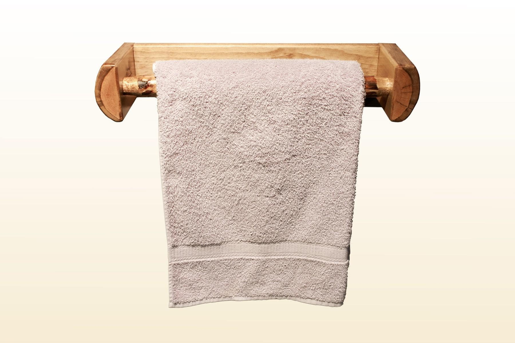Modern Wooden Towel Rack