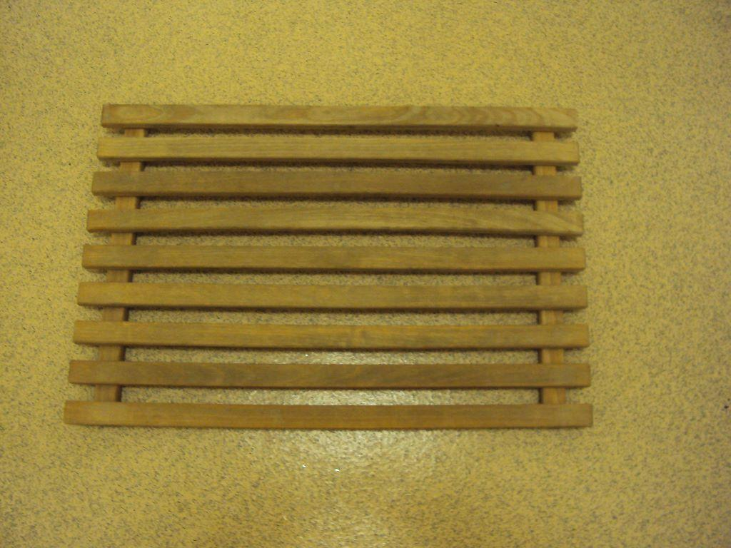 New Wooden Bath Mat