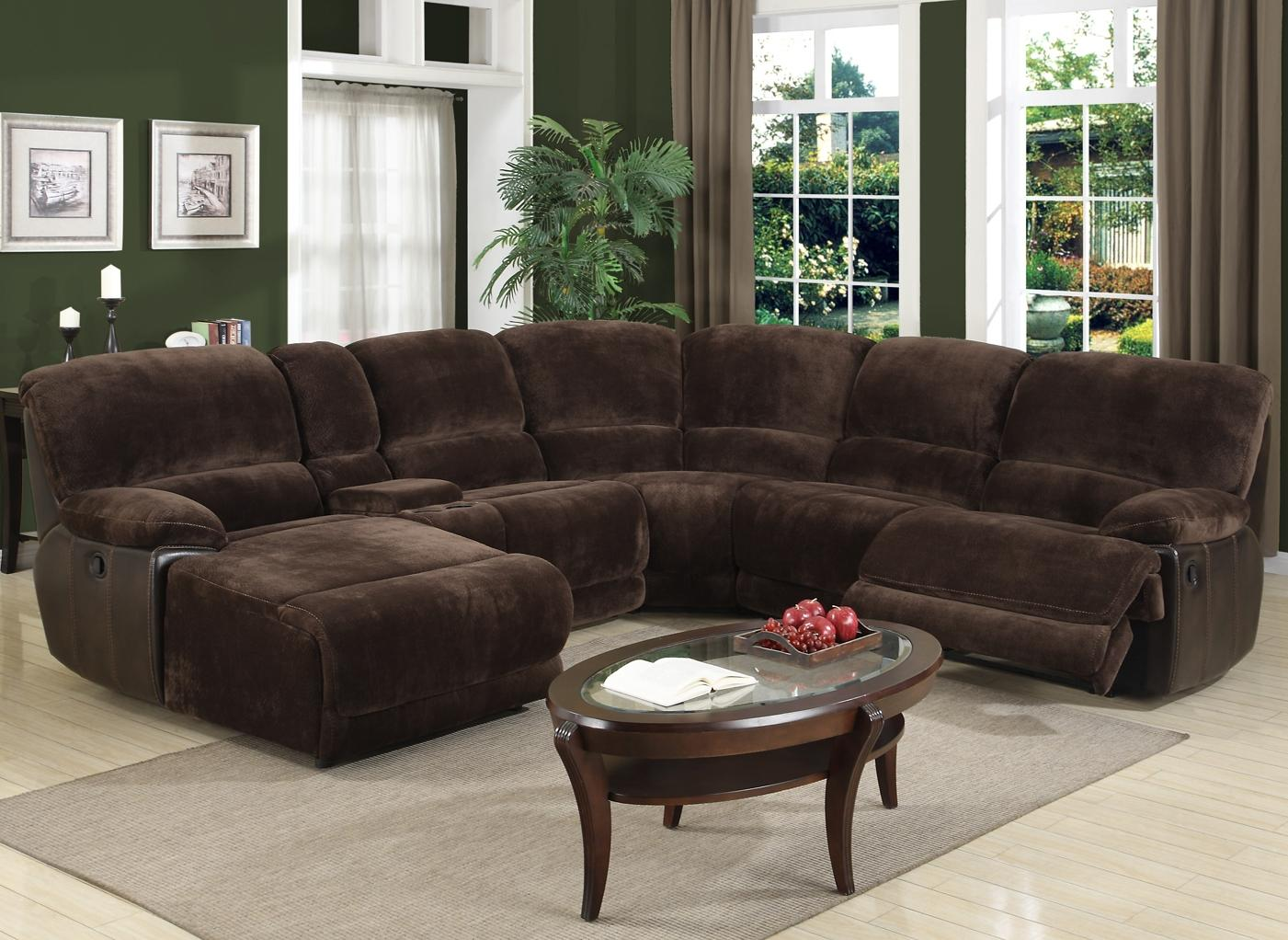 Nice Sectional Sofa With Recliner