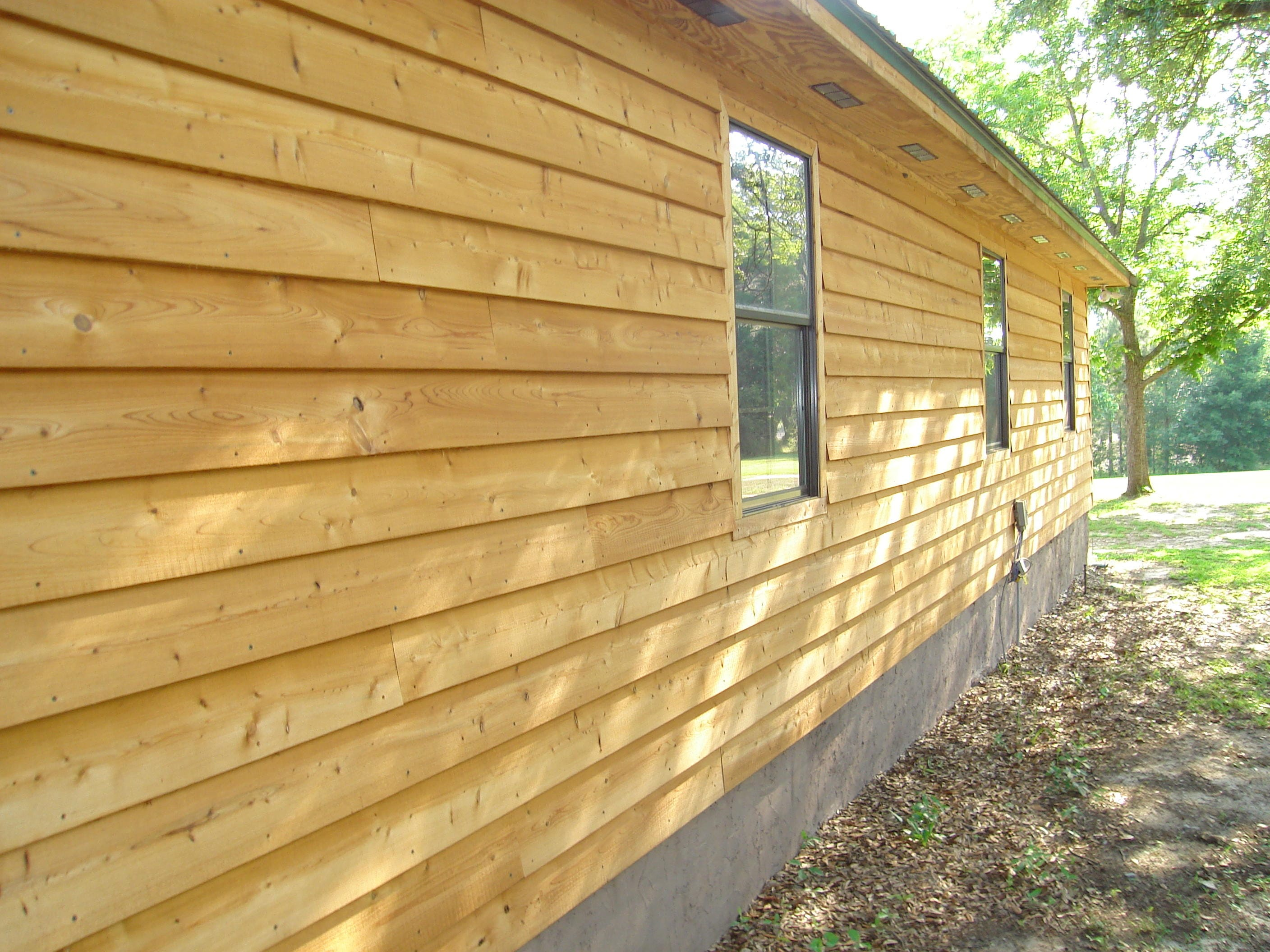 Original Wood Lap Siding