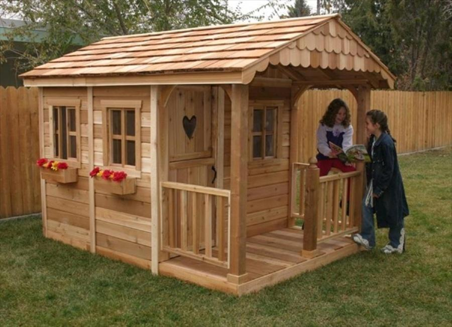 Outdoor Wooden Playhouse Accessories