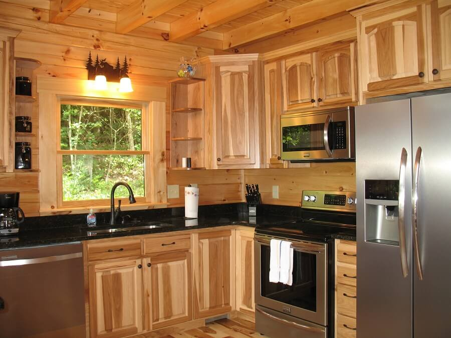 Paint Hickory Kitchen Cabinets
