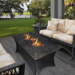 Patio Fire Pit Coffee Table
