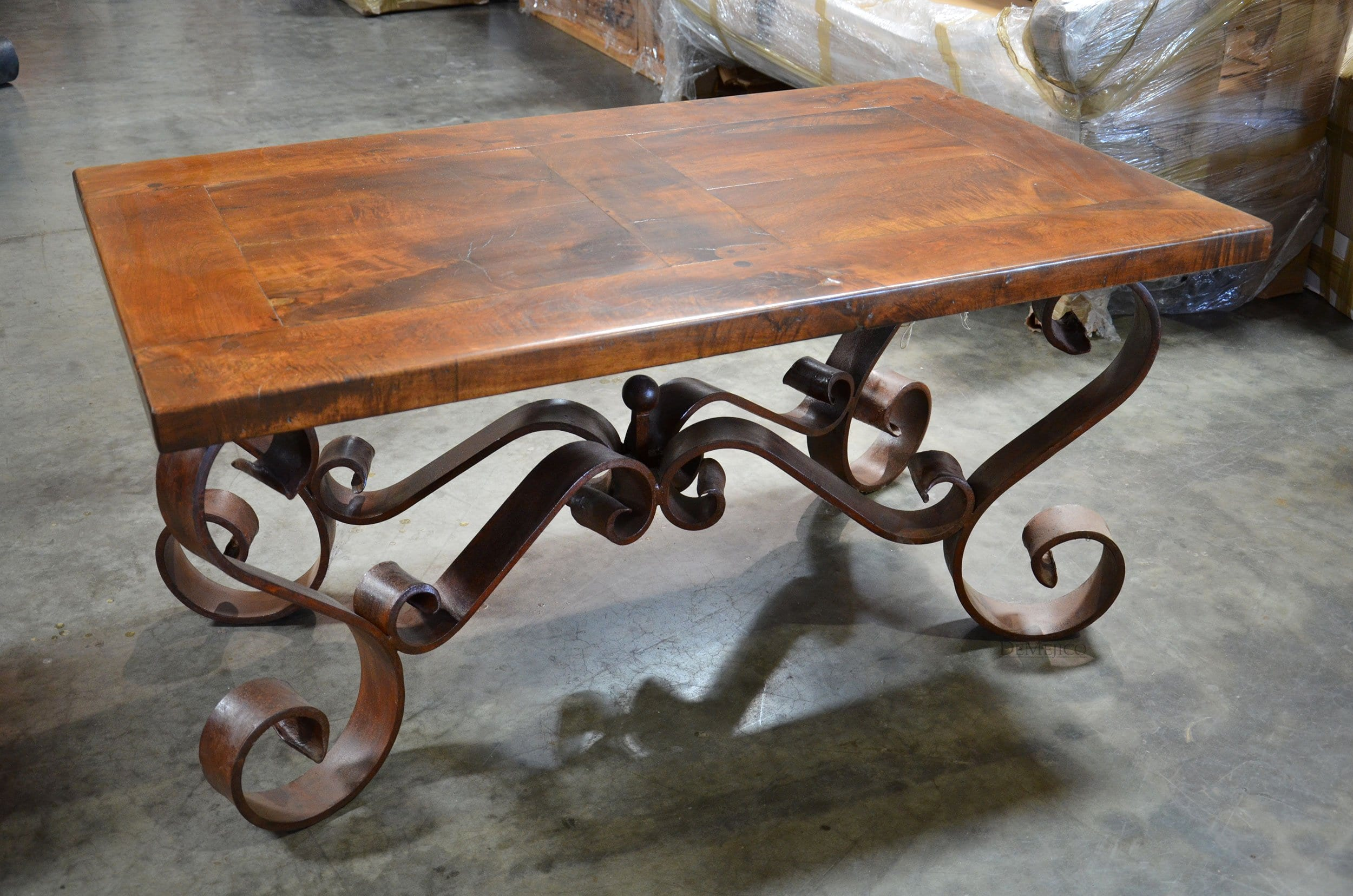Photo Wrought Iron End Tables