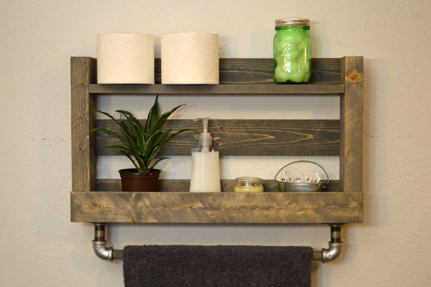 Mounting A Wooden Towel Rack - Loccie Better Homes Gardens ...