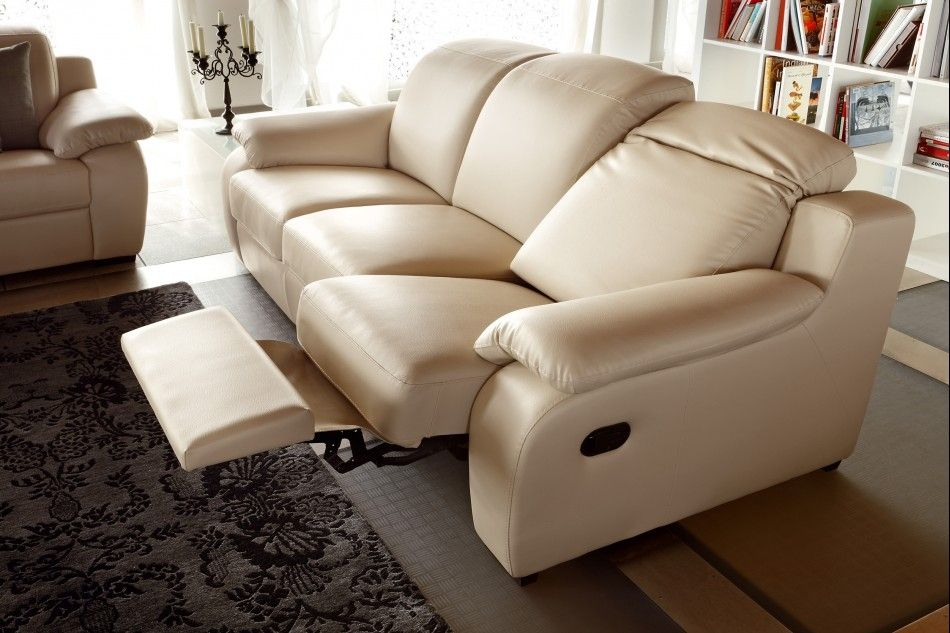 Power Modern Reclining Sofa