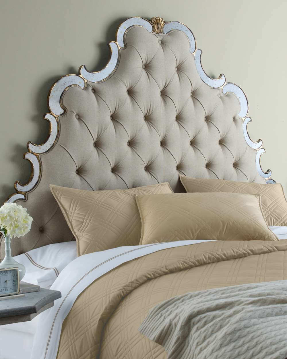 Quilted Headboard Photo