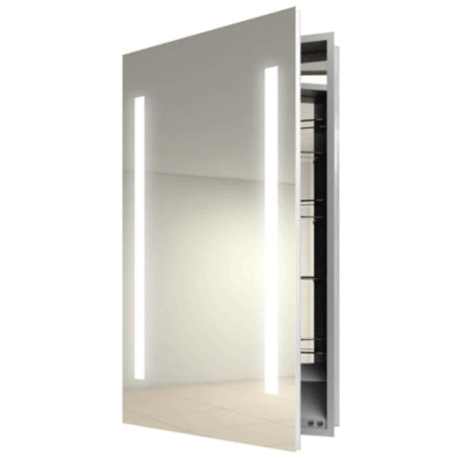 Recessed Medicine Cabinet With Light