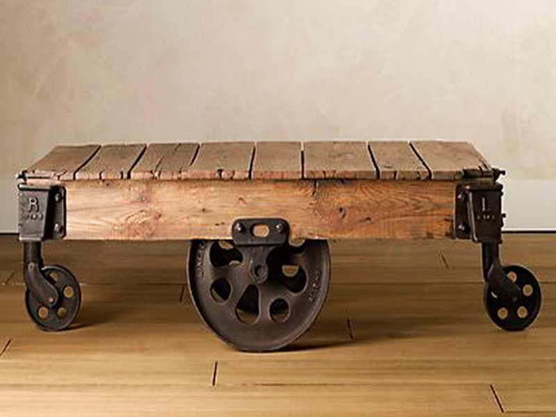 Reclaimed Wood Coffee Tables Antique