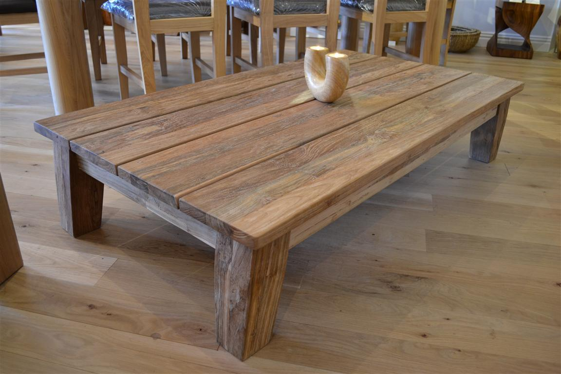 Reclaimed Wood Coffee Tables Picture