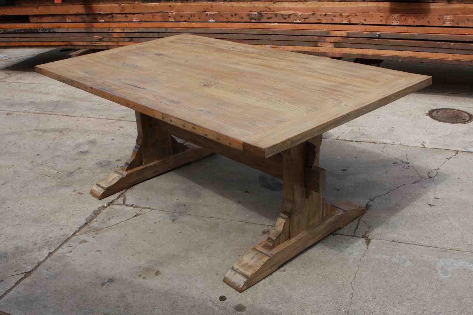 Unfinish Reclaimed Wood Kitchen Table Ideas