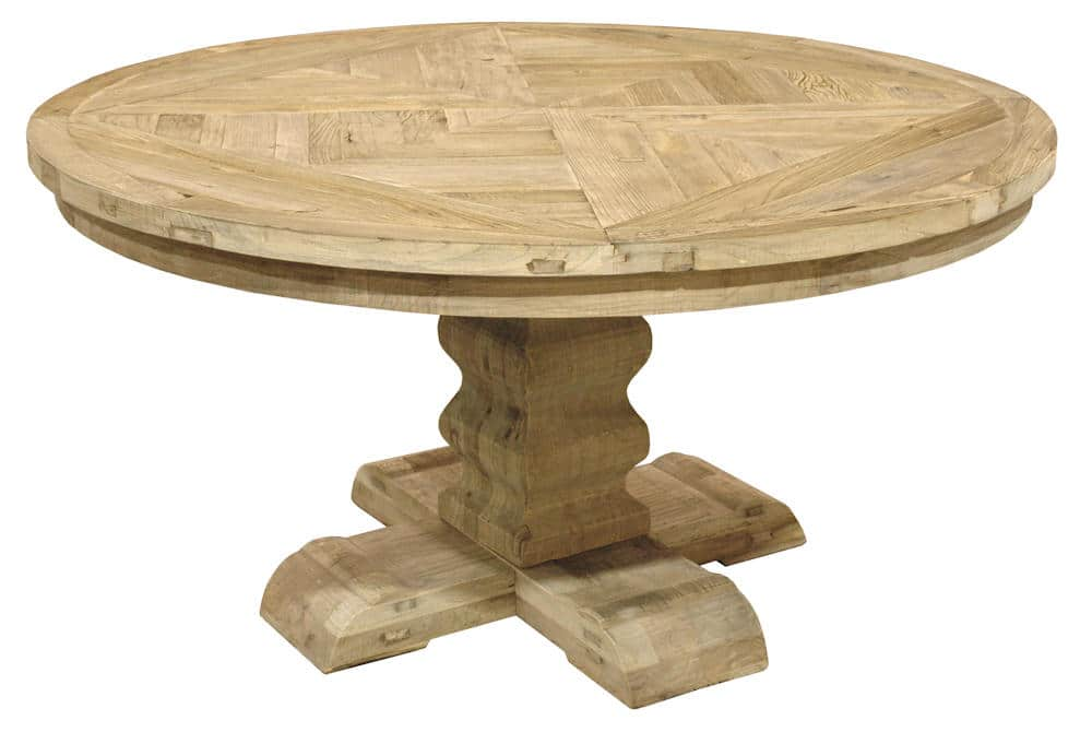 Reclaimed Wood Round Dining Table Styles