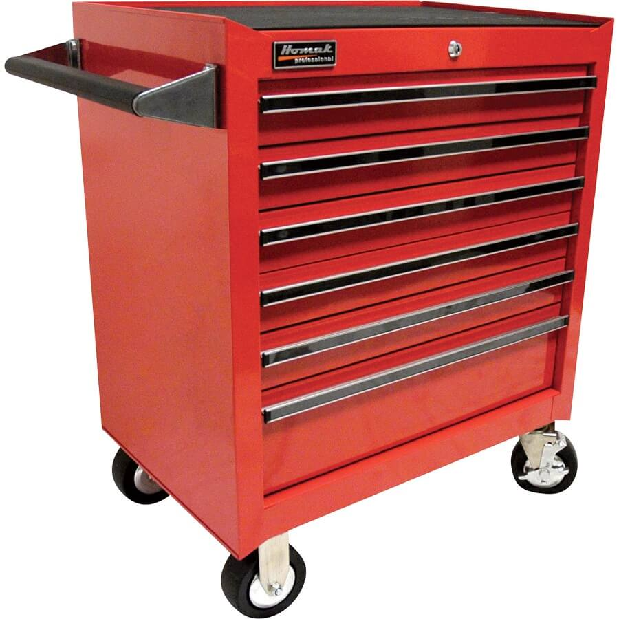 Red Rolling Tool Cabinet
