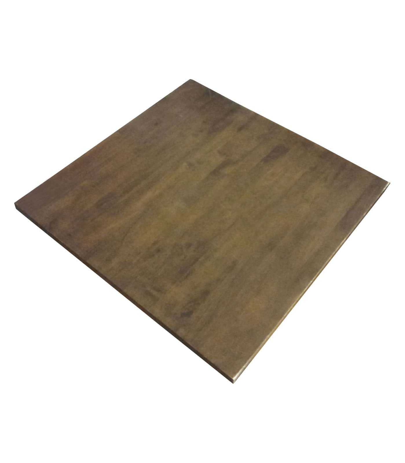 Square Restaurant Table Tops Plan