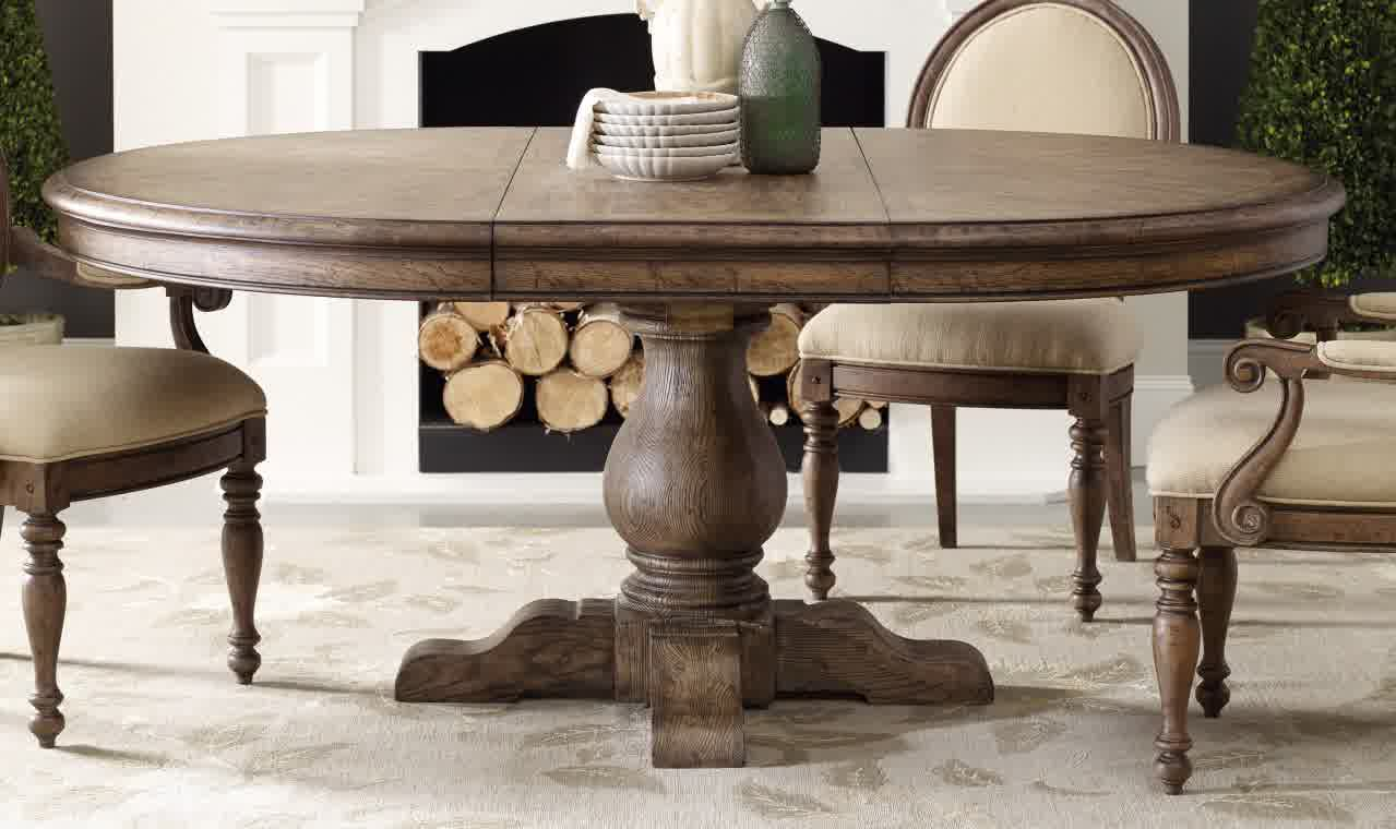 Round Dining Table With Leaf And Chairs Loccie Better