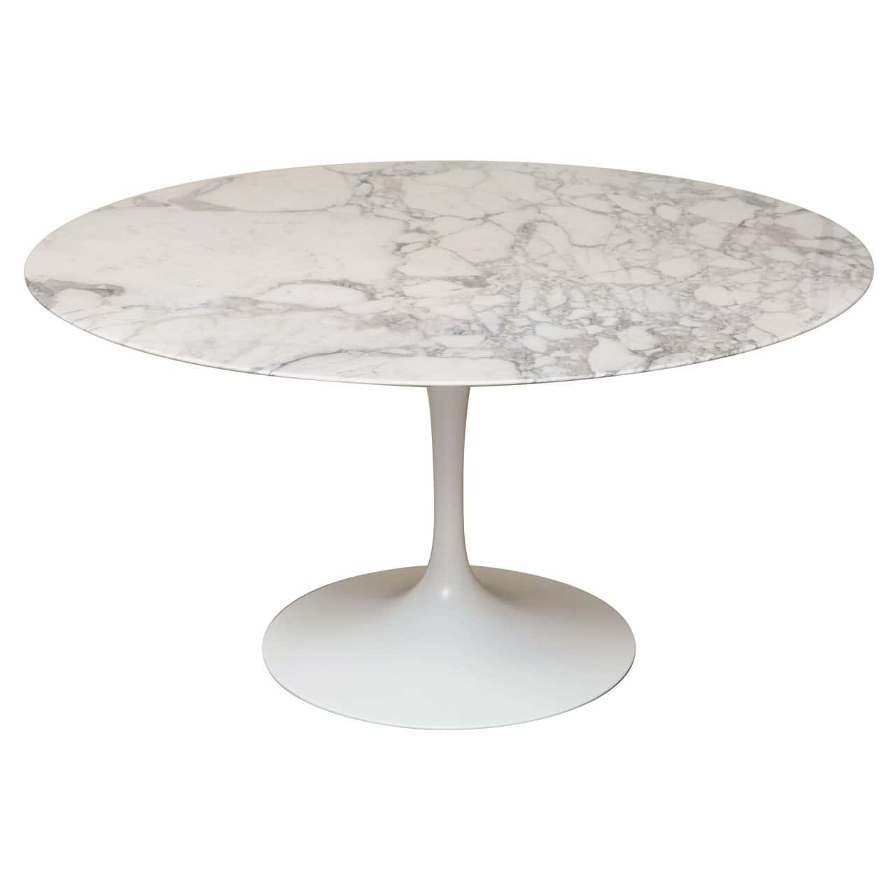 Round Marble Dining Table Clasick
